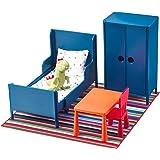 IKEA (イケア) HUSET ミニチュア家具 ベッドルーム 70292260