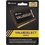 Corsair 8GB (1x8GB) DDR4 SODIMM 2133MHz C15 1.2V 15-15-15-36 260pin Value Select Notebook Laptop Memory RAM
