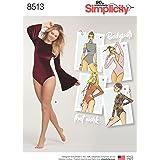 Simplicity Misses' Knit Bodysuits