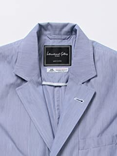 Broadcloth Jacket 11-16-0923-107: Blue Stripe
