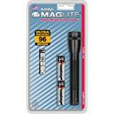 Maglite Mini Incandescent 2-Cell AA Flashlight, Black