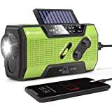 RunningSnail Solar Crank NOAA Weather Radio For Emergency with AM/FM Flashlight Reading Lamp And 2000mAh Power Bank