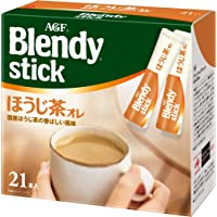 AGF ブレンディ スティック ほうじ茶オレ 21本×3箱 【 ほうじ茶 粉末 】