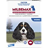Milbemax All Wormer Tablets for Small Dogs, 2 count