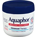 Aquaphor Healing Ointment Moisturizing Skin Protectant for Dry ed Hands Heels and Elbows Use After Hand Washing Oz Jar, bA, F