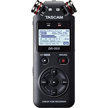 TASCAM タスカム - USB オーディオインターフェース搭載 ステレオ リニアPCMレコーダー DR-05X