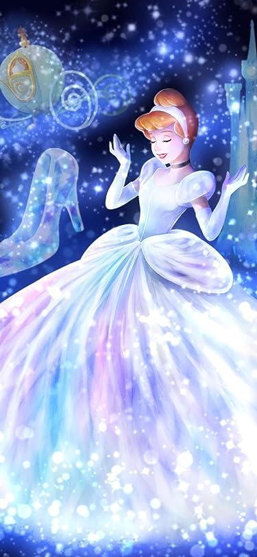 ディズニー  iPhone/Androidスマホ壁紙(1125×2436)-1 - 魔法の光に包まれて(シンデレラ)