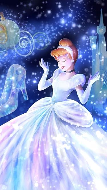 ディズニー  iPhone/Androidスマホ壁紙(720×1280)-1 - 魔法の光に包まれて(シンデレラ)