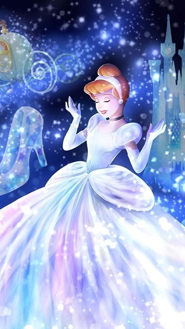 ディズニー  iPhone/Androidスマホ壁紙(1125×2001)-1 - 魔法の光に包まれて(シンデレラ)