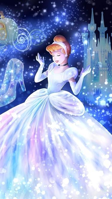 ディズニー  iPhone/Androidスマホ壁紙(1242×2208)-1 - 魔法の光に包まれて(シンデレラ)