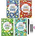 Magic Practice Copybook for Kids - Calligraphy Workbook Set That Can Be Reused,Reusable Tracing Workbook for Preschoolers Kid