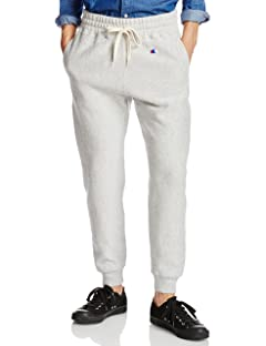 Reverse Weave Sweat Pant 113-15-0166: Heather Grey