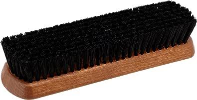 [エム・モゥブレィ] シューケア 靴磨き ツヤ出し 仕上げ用化繊毛ブラシ プロ・ブラシ(化繊) ブラック(ドイツ製) Free