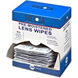 Premoistened Lens and Glass Cleaning Wipes - Portable Travel Cleaner for Glasses Camera Cell Phone Smartphone and Tablet - Di