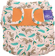 Bambino Mio, miosoft Cloth Nappy Cover, Wild cat, Size 1 (<9kgs)