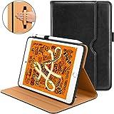 DTTO iPad Mini 5th Generation 2019 Case, [Noble Series] Leather Folio Cover Case with Apple Pencil Holder for iPad Mini 5 201