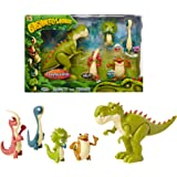 Gigantosaurus Figures Giganto & Friends Toy Action Figures, Includes: Giganto, Mazu, Bill, Tiny & Rocky – Articulated Charact