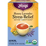 海外直送品Yogi Teas / Golden Temple Tea Co Stress Relief Tea Hone…