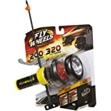 Fly Wheels Launcher + 2 Moto Wheels - Rip it up to 200 Scale MPH, Fast Speed, Amazing Stunts & Jumps up to 30 feet! All Terra