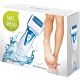 Electric Callus Remover: Rechargeable Electronic Foot File CR900 by Own Harmony(Tested Most Powerful) Best Pedicure Tools w 3