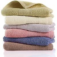 LEEPWEI ハンドタオル 6枚セット タオル 綿100% 業務用 おしぼり 柔らか肌触り ふんわり 瞬間吸水 速乾…