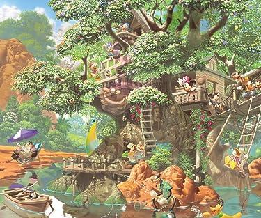 ディズニー  iPhone/Androidスマホ壁紙(960×800)-1 - ふしぎの森のツリーハウス