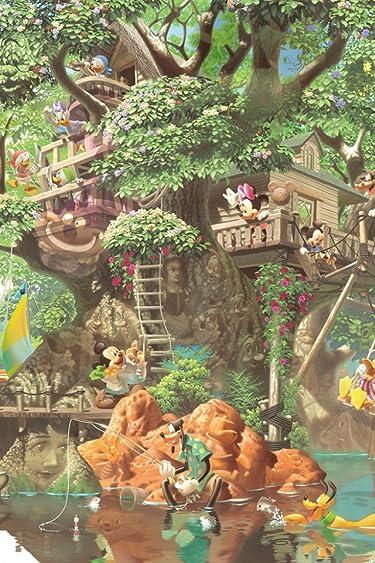 ディズニー  iPhone/Androidスマホ壁紙(640×960)-1 - ふしぎの森のツリーハウス