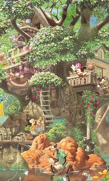 ディズニー  iPhone/Androidスマホ壁紙(480×800)-1 - ふしぎの森のツリーハウス