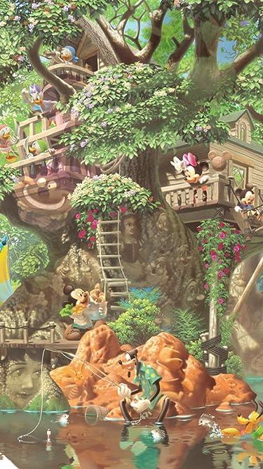 ディズニー  iPhone/Androidスマホ壁紙(540×960)-1 - ふしぎの森のツリーハウス