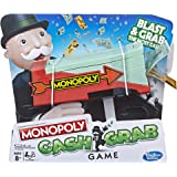Monopoly - Cash Grab - Blast and Grab The Most Cash - Kids Toys & Board Games - Ages 8+