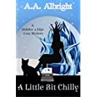 A Little Bit Chilly (A Riddler's Edge Cozy Mystery #8)