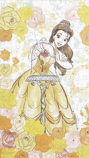 ディズニー  iPhone/Androidスマホ壁紙(640×1136)-1 - 美女と野獣 Belle(ベル)