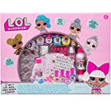 L.O.L. Surprise! 3-in-1 Lip,Nail & Body Studio by Horizon Group USA.DIY Beauty Activity Kit.Make Color Changing Lip Glosses,M