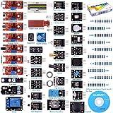 KINCREA KUMAN 38 modules Sensor Kit for Raspberry Pi RPi 3 2 Model B B+ A A+, 44 Components Kits K5 (38 modules Sensor kit)