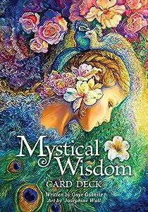 ミスティカル ウィズダム オラクル カード Mystical Wisdom Card Deck オラクルカード 占い 英語のみ