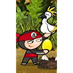 Chop Chop Ninja Challenge XFVGA(480×854)壁紙 Iro