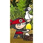 Chop Chop Ninja Challenge iPhoneSE/5s/5c/5 壁紙 視差効果 Iro