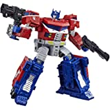 """TRANSFORMERS Generations War for Cybertron Siege - WFC-S40 Galaxy Upgrade Optimus Prime 7"""" Leader Class Action Figure - Kids"""
