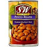 S&W Pinto Beans 425g