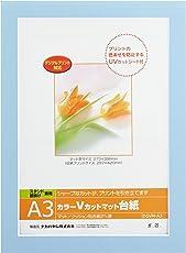 ナカバヤシ フォトフレーム 額 カラーVカットマット台紙 A3 ブルー DGVM-A3-B