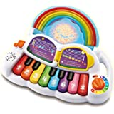 LeapFrog Learn & Groove Rainbow Lights Piano - Interactive Educational Musical Toy Piano for Kids - 612403