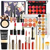 Professional Makeup Set,MKNZOME Cosmetic Starter Kit With Storage Bag Portable Travel Make Up Palette Birthday Xmas Gift Set