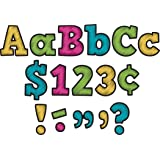 Teacher Created Resources Chalkboard Brights Bold Block 4-Inch Letters Combo Pack (5617)