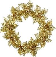 """Kurt Adler 20"""" Plastic Flower Wreath"""