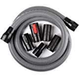 WORKSHOP Wet Dry Vacuum Accessories WS17823A Wet Dry Vacuum Hose, 1-7/8-Inch x 10-Feet Heavy Duty Contractor Wet Dry Vac Hose