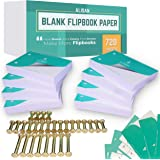 ALISAN Blank Flip Book Paper - 720 Sheets Animation Drawing Flipbook Paper of 160 GSM for Sketching Supplies/Comic Book Kit.
