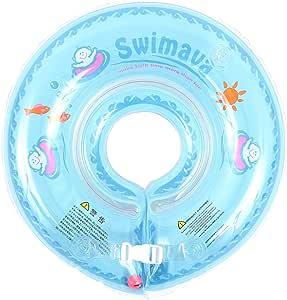 スイマーバ Swimava うきわ首リング (ブルー) SW120BL