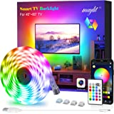 LED Strip Lights, Maylit TV LED Backlight 6.56ft for 40-60in TV Bluetooth Control Sync to Music, USB Bias Lighting TV LED Lig