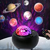 Galaxy Projector Light Music Nebula Star Projector Mutiple Planet Lights for LivingRoom Ceiling,Night Light Ambiance Bedroom,