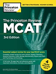 Princeton Review MCAT, Volume 1: Content Review and Instruction